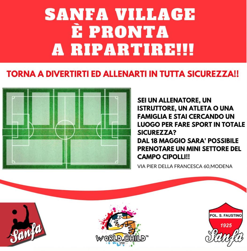 Torna ad allenarti in sicurezza – Sanfa village